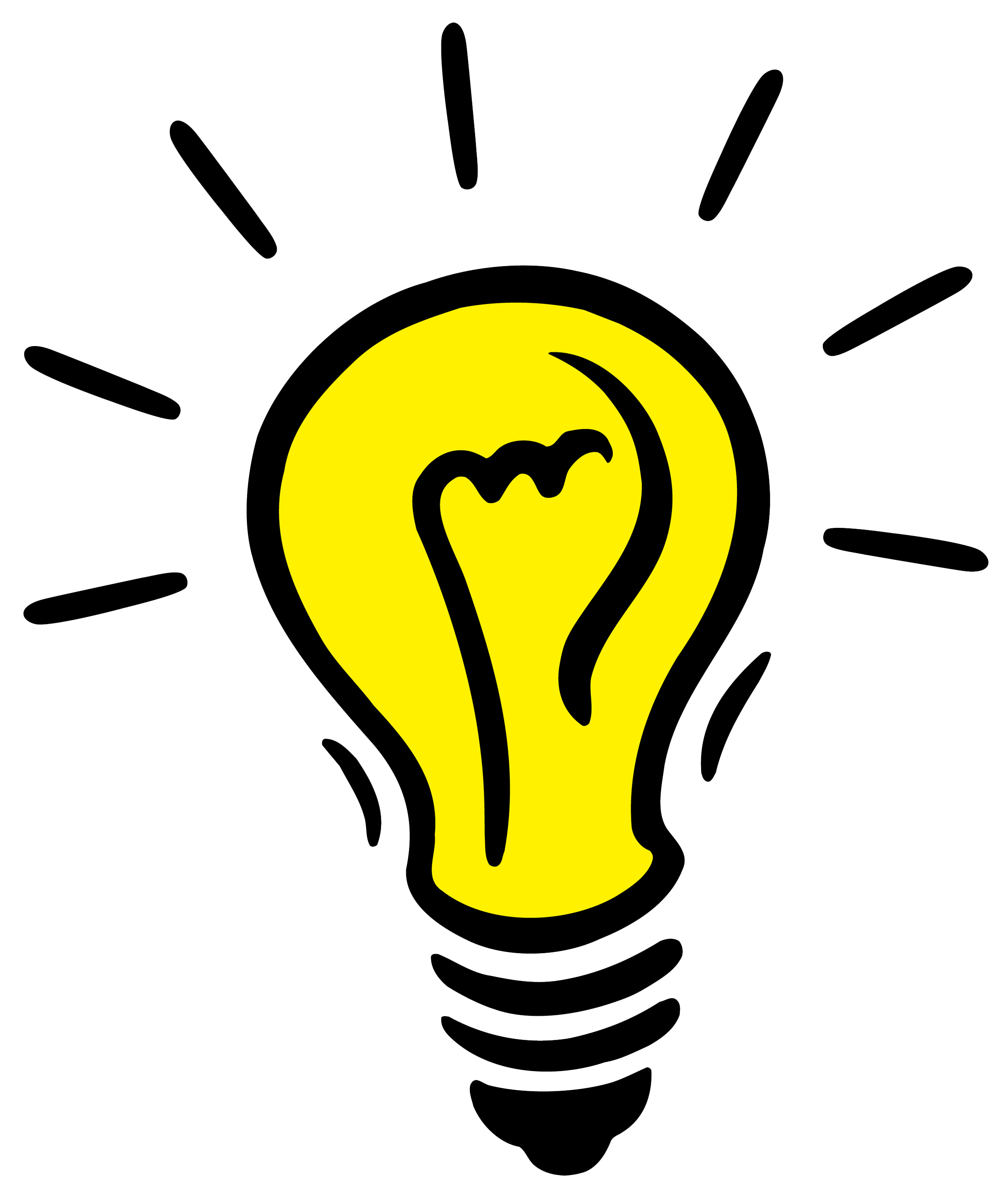 Idea lightbulb png. Bulb transparent mart