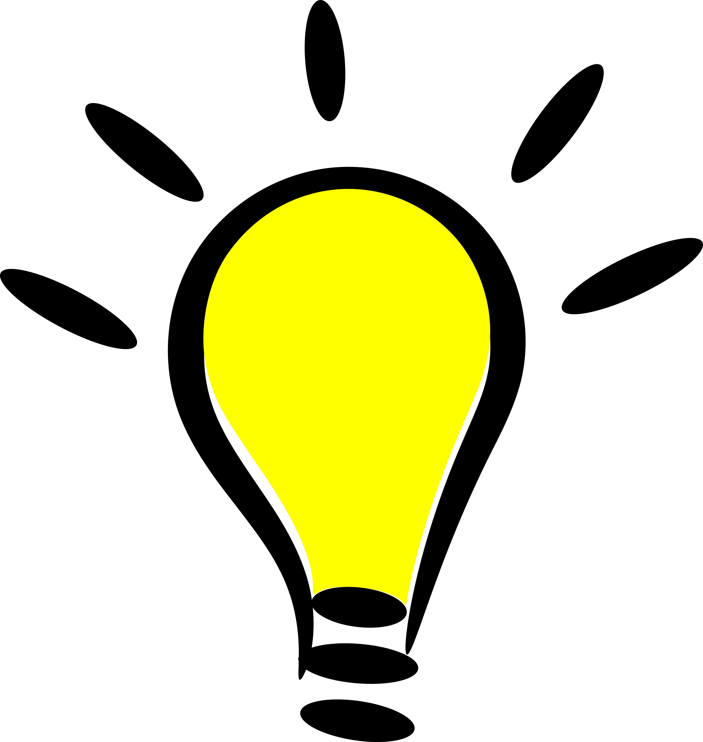 Idea lightbulb png. Light bulb file mart