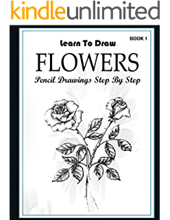 Xray drawing pencil. Learn to draw flower