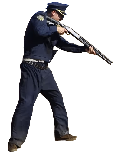 Idubbbz content cop png. Takes aim by lone