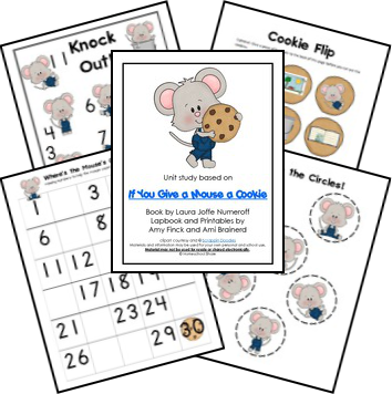 If you give a mouse a cookie png. Free lapbook life of