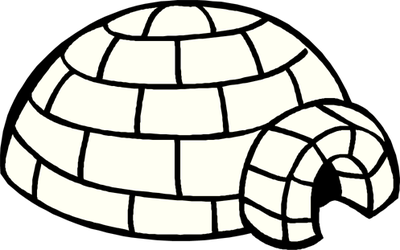 Igloo clipart scenery. Free cliparts download clip