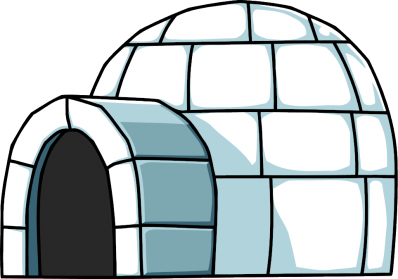 Igloo clipart scenery. Images transparent clip art