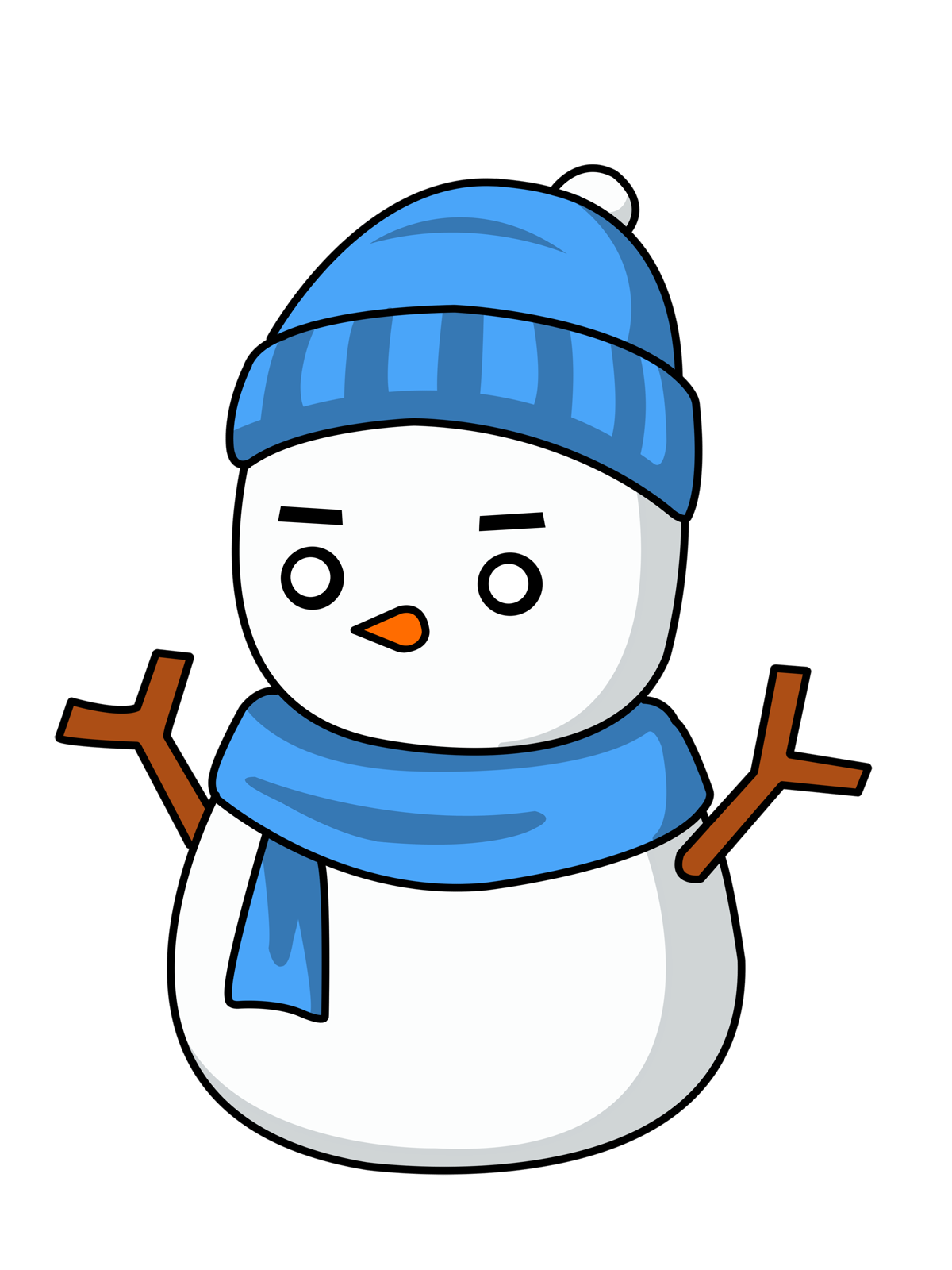 Eskimo drawing man. Arctic clipart inuit free