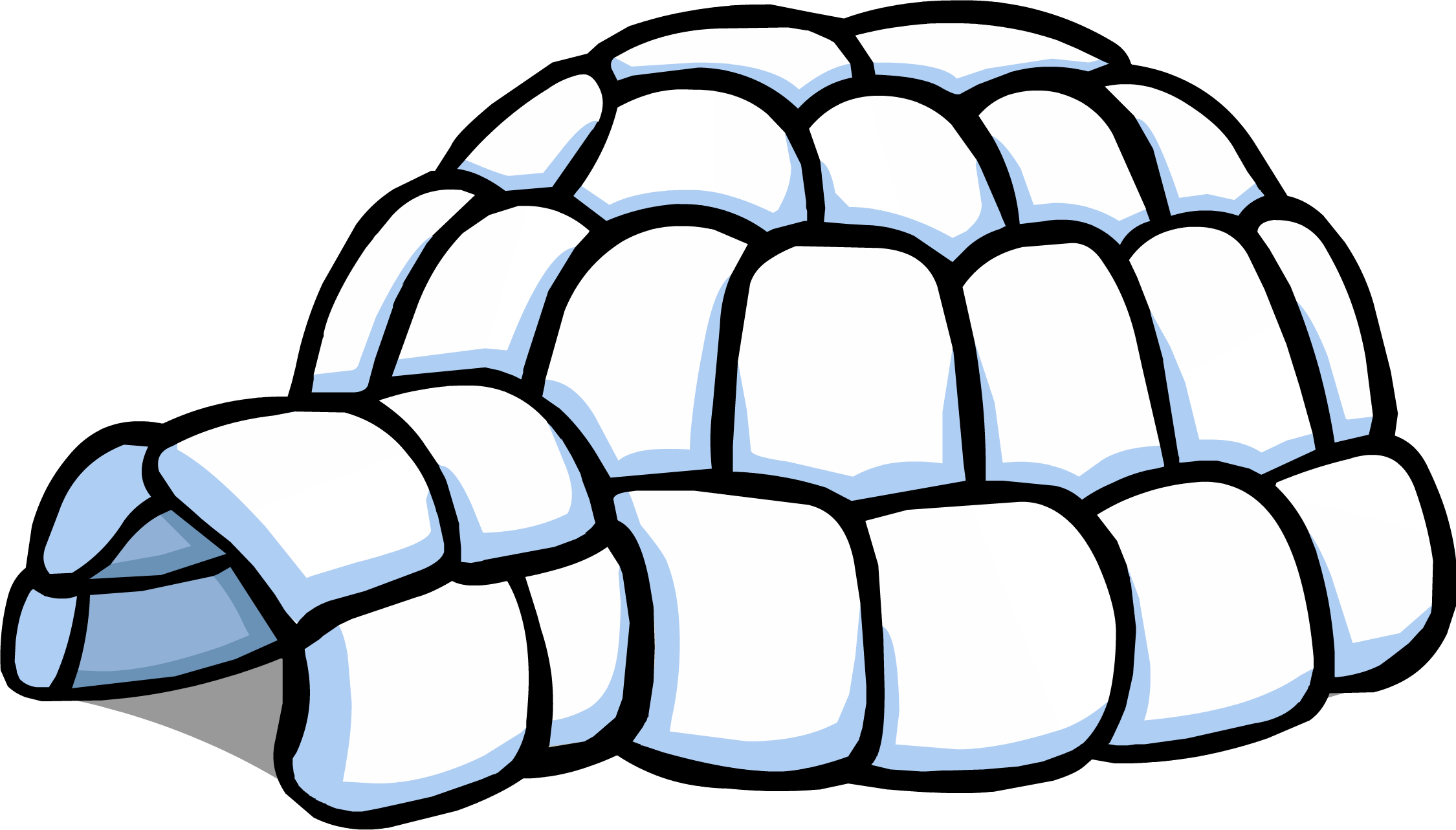 Igloo clipart polar climate. Graphic black and