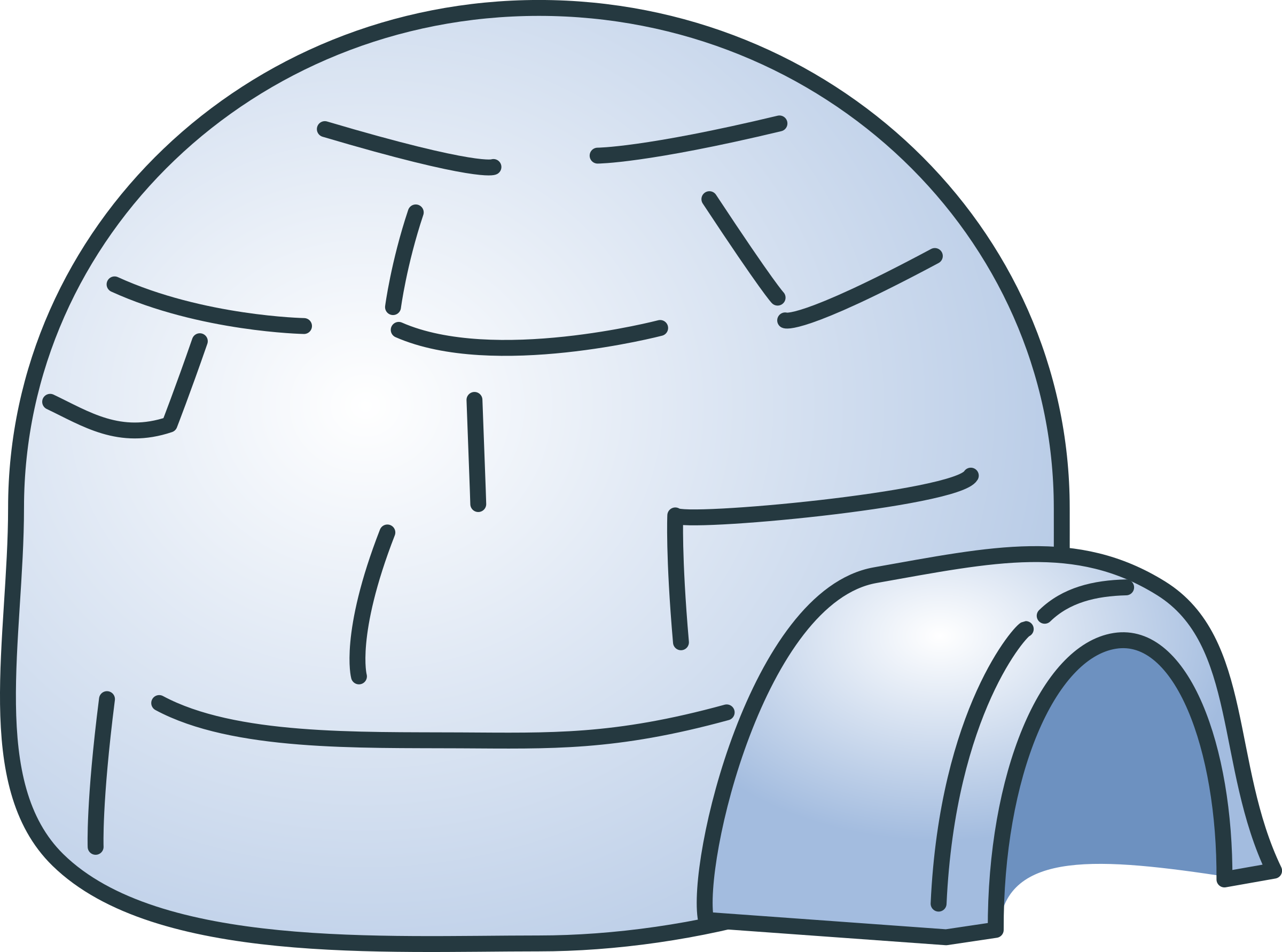 Igloo clipart scenery. Free download clip art