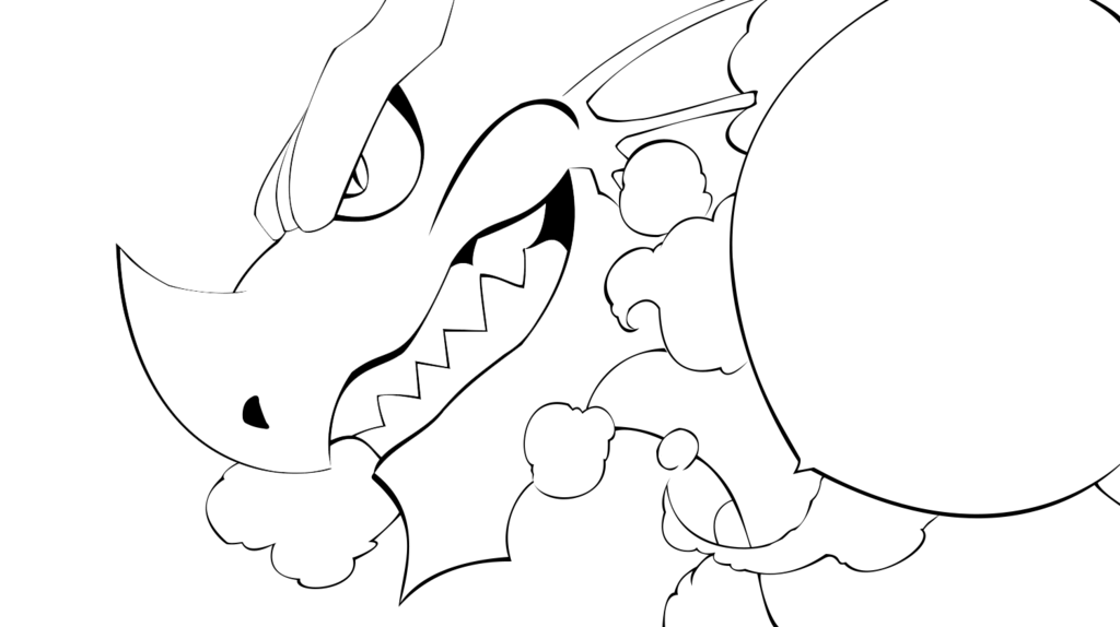 Fairy tail by steven. Igneel drawing png black and white download