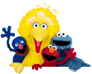 Big bird face png. Elmo s christmas dream
