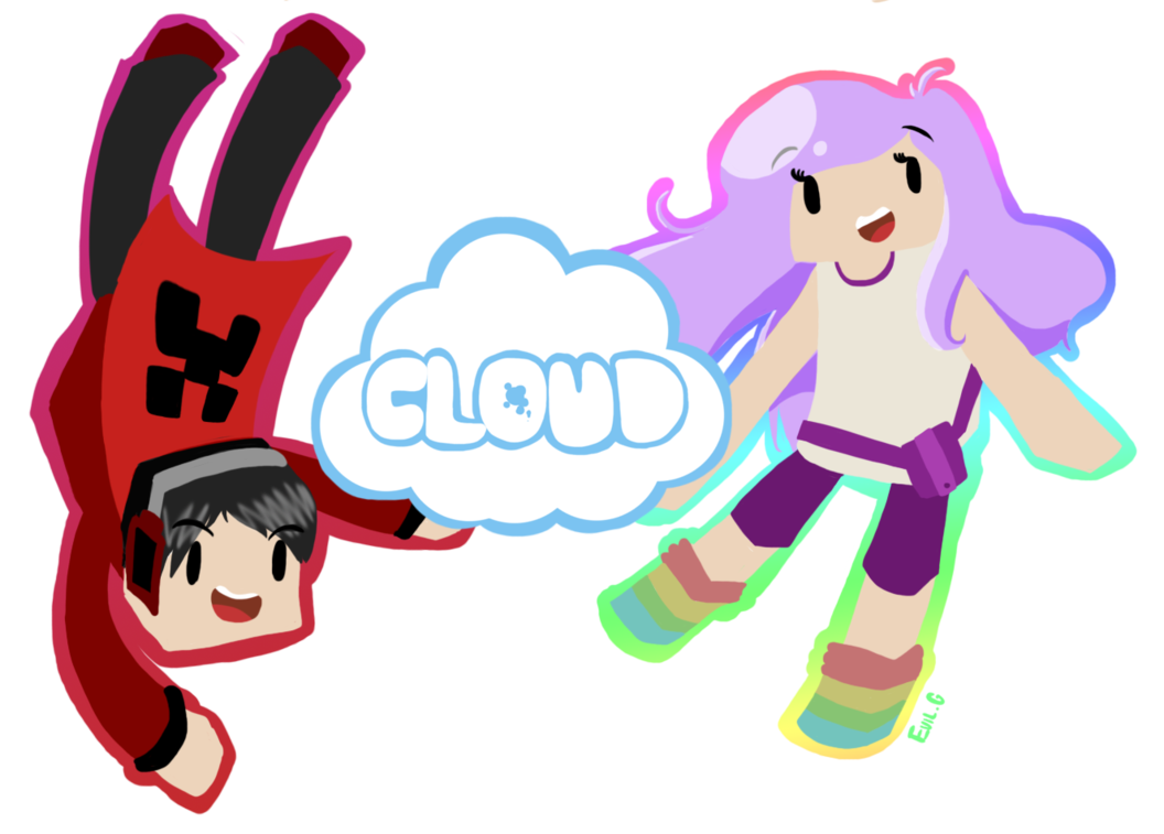 Ihascupquake drawing youtuber. And redb cloud it