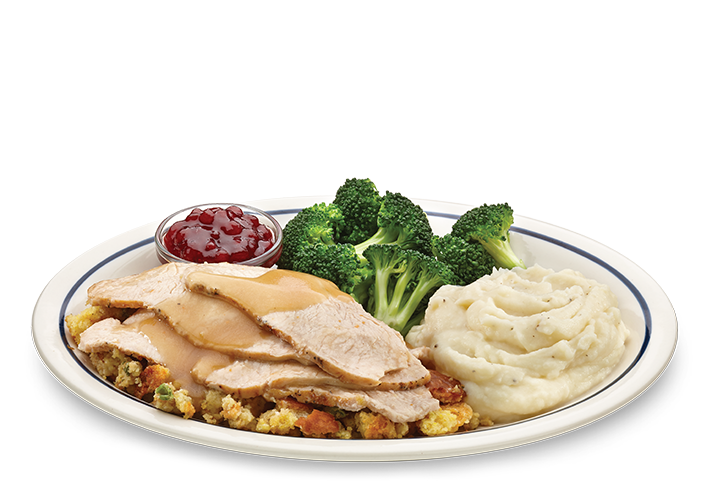 Ihop turkey dinner png