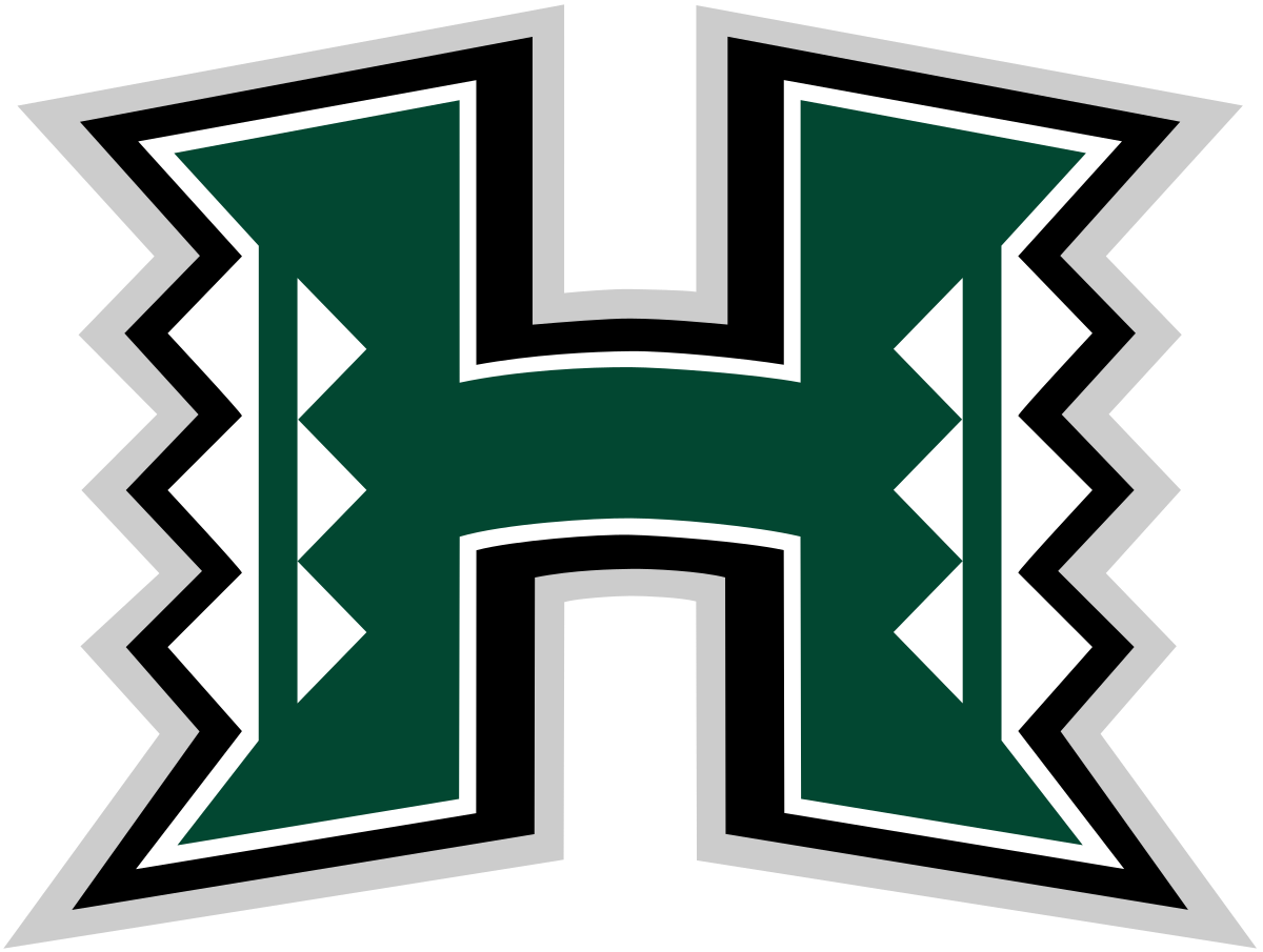 Ikaika warrior png. Hawaii rainbow warriors football