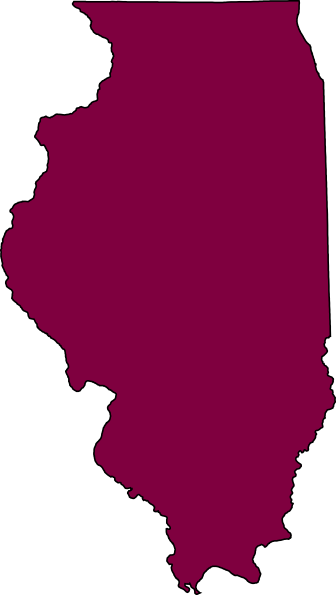 Illinois outline png. Clip art at clker