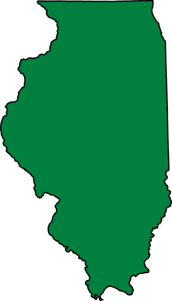 illinois state outline png