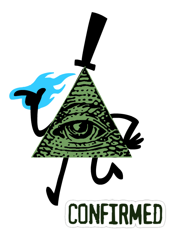 Illuminati confirmed png. Image bill cipher by