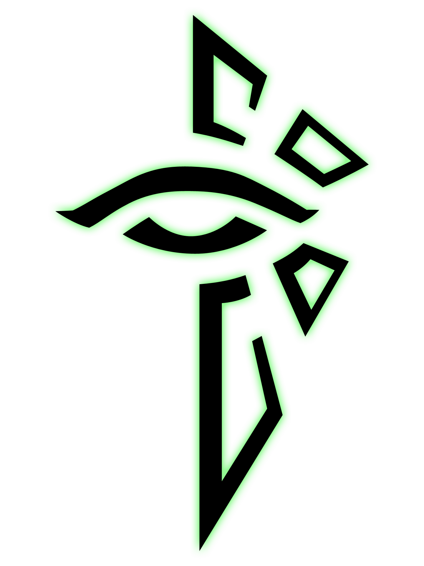 Ingress logos by cr. Illuminati .png clip art black and white download