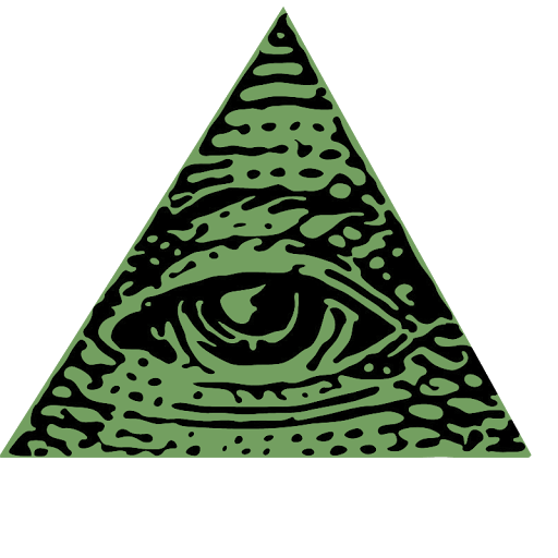 Illuminati triangle png. Symbol transparent stickpng download