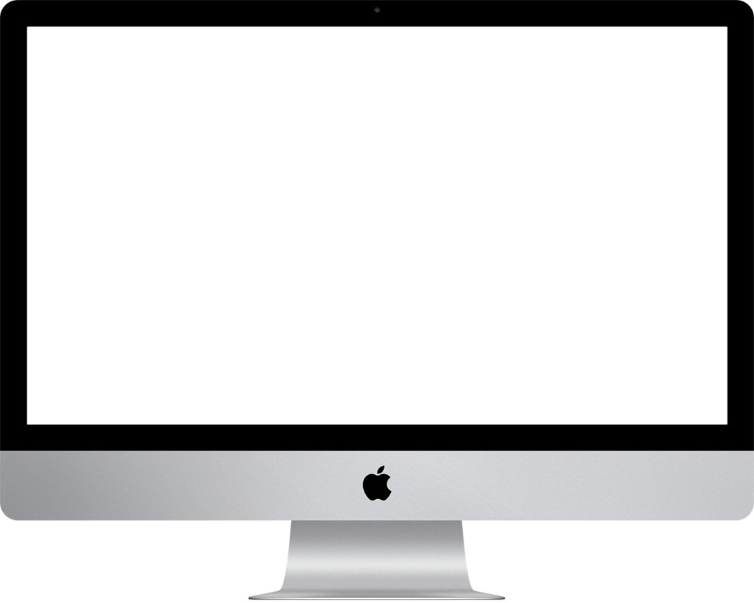 Imac computer png. Large success imaclarge