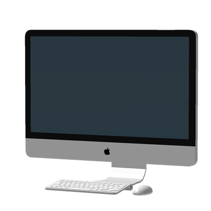 Imac desktop png. Inch apple free