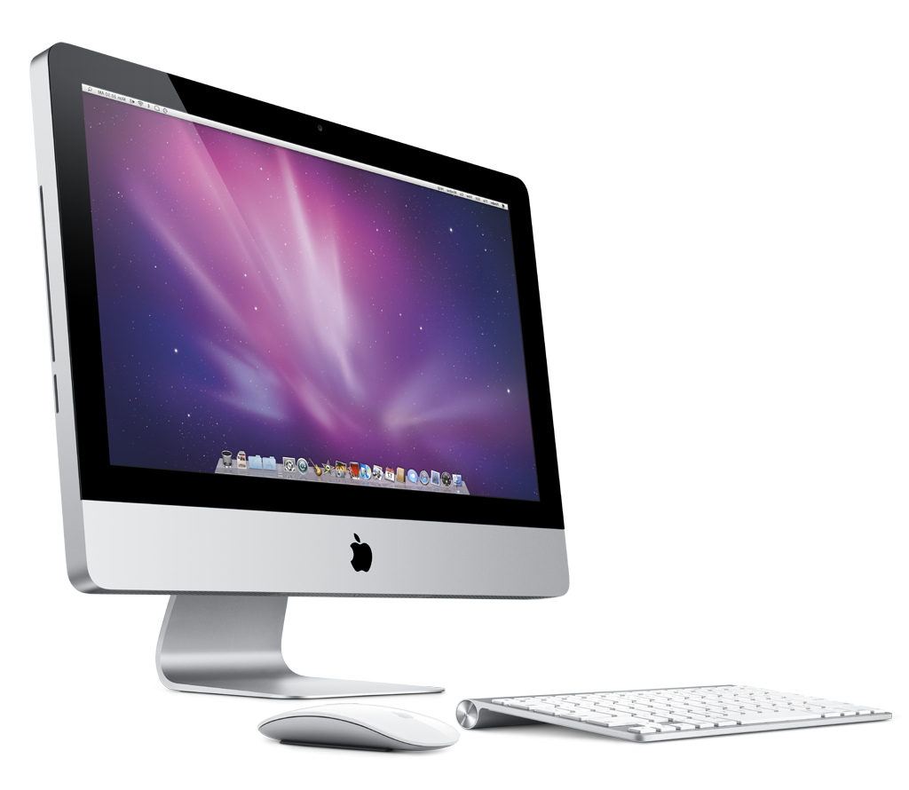 Imac desktop png. Standardtouch