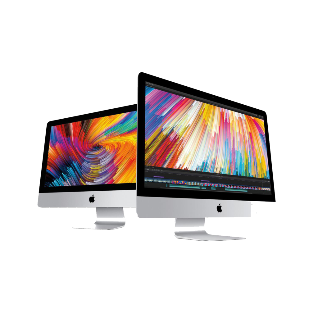 Imac pro png. White vector clipart psd