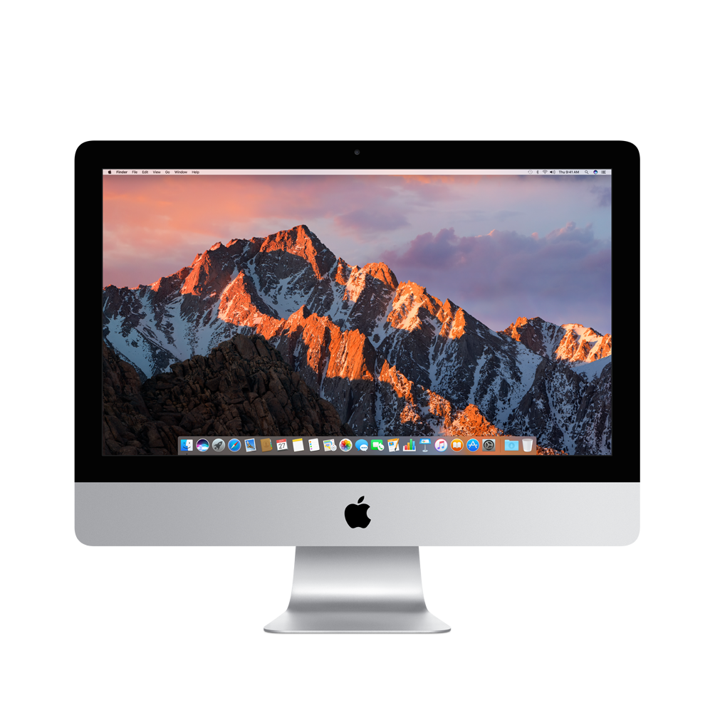 Imac transparent clear. Inch switch