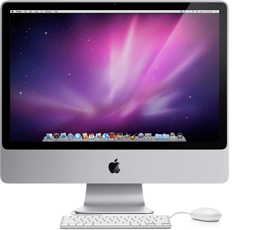 Imac desktop png. Inch transparent stickpng download