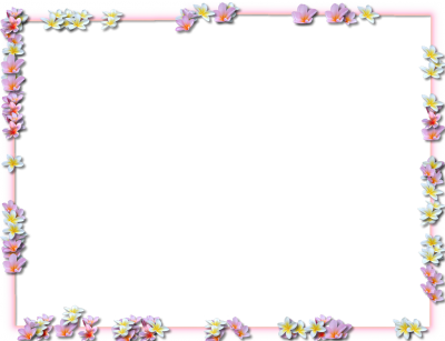 Image border png. Download flowers borders free