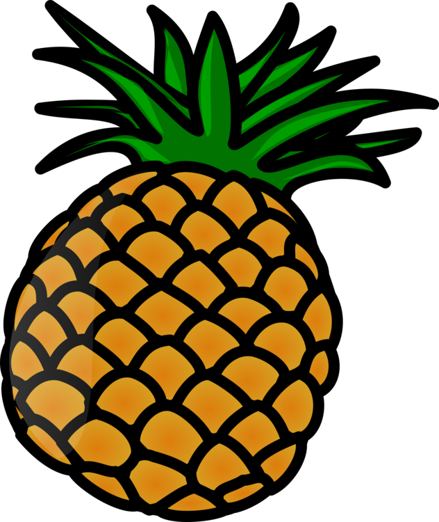 Image drawing pineapple. Download document food free