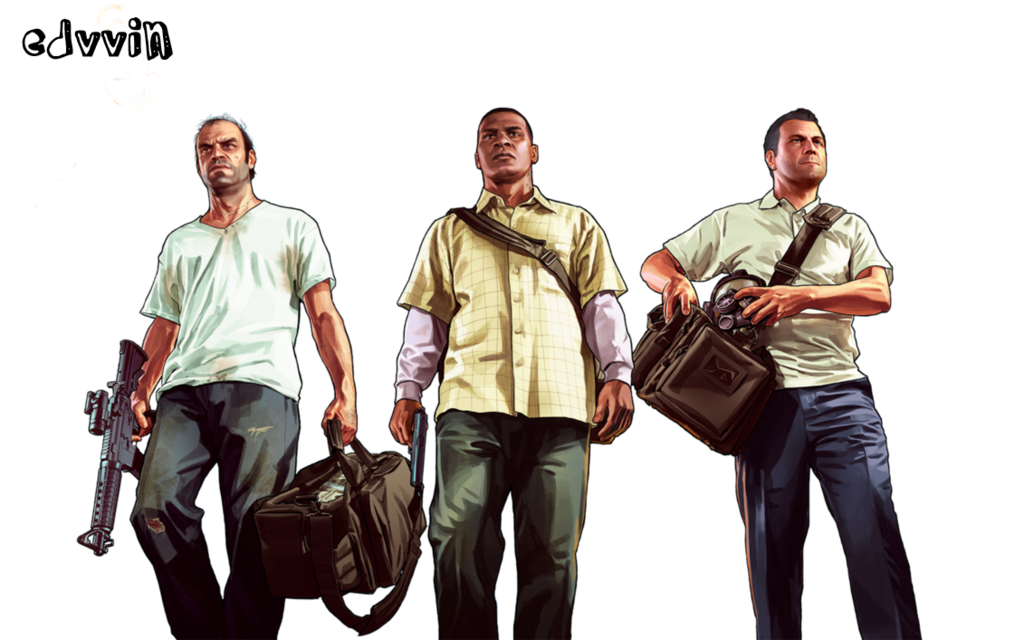 V by edvvin on. Gta 5 characters png jpg
