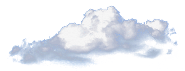 Nubes en png. Nube by angelarominarivas on