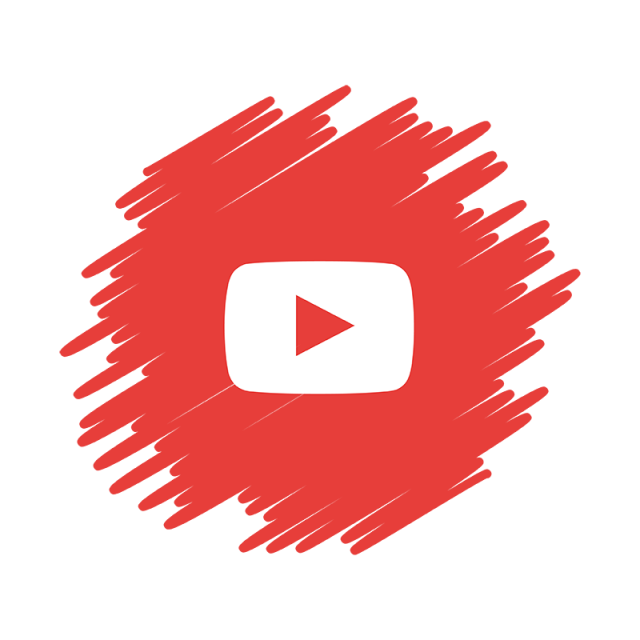 Youtube png. Social media icon sociales