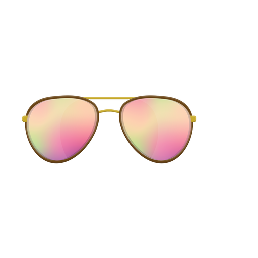 Transparent aviators svg. Culos de sol