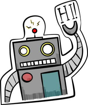 Imessage drawing. Vintage robot apps games