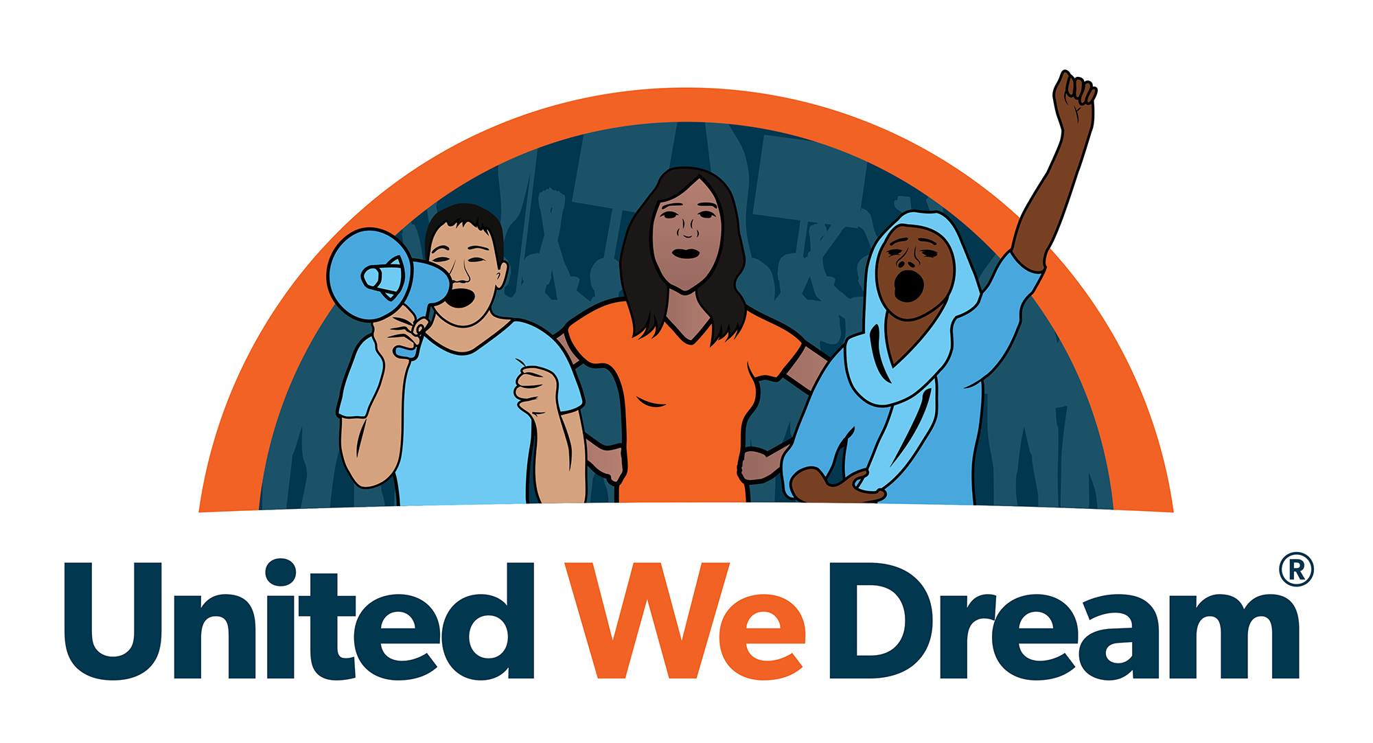 Immigrant drawing deportation. United we dream announces