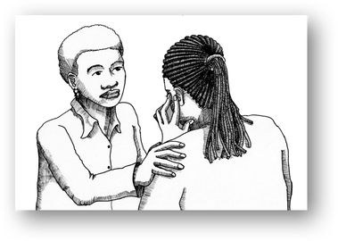 Immigrant drawing empathy. Empathic engagement pmhp blog