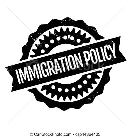Policy rubber stamp grunge. Immigration clipart clipart royalty free stock