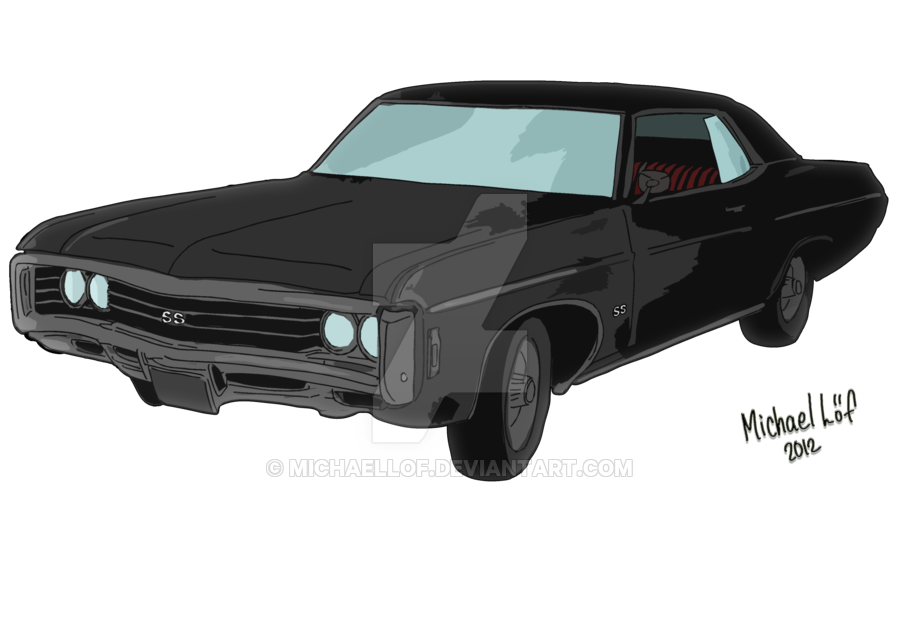 Impala drawing. Chevrolet by michaellof