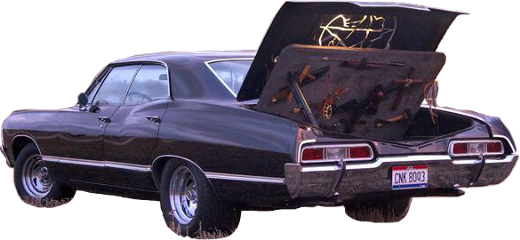 Impala drawing spn. Popular and trending stickers