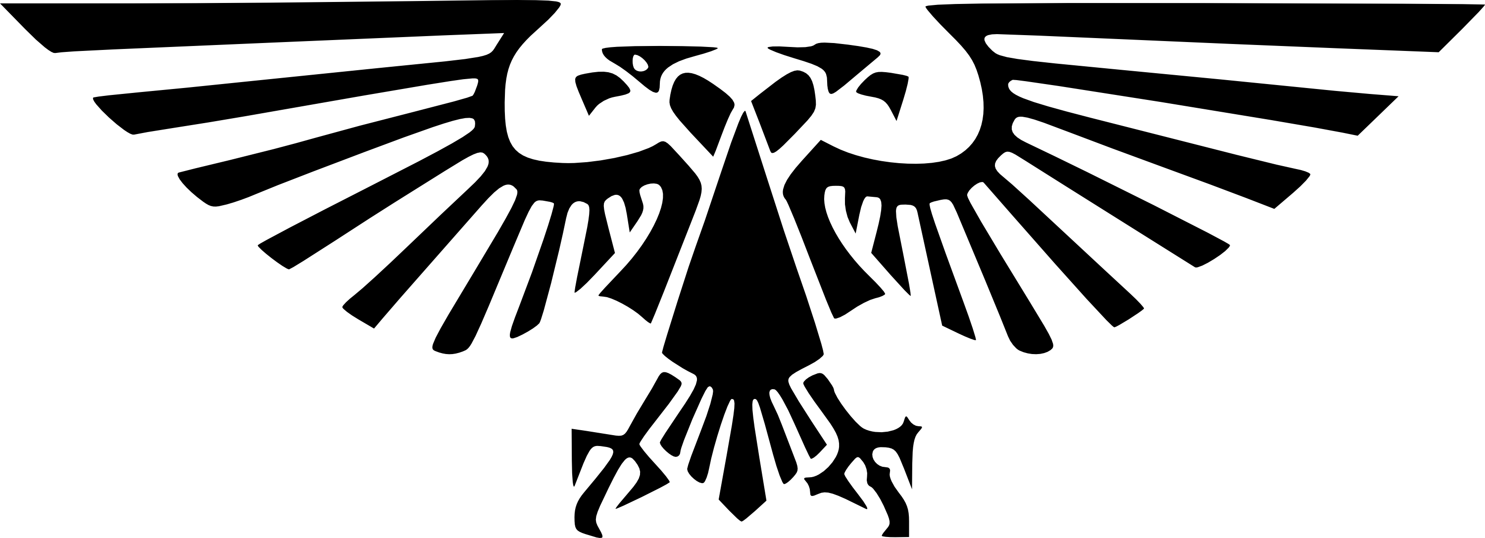 Imperial eagle png. Warhammer imperium french aquila