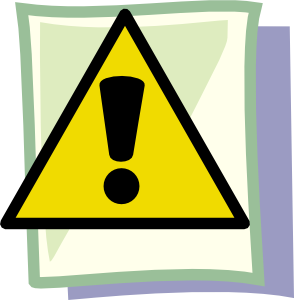 Important clipart. Yield clip art at