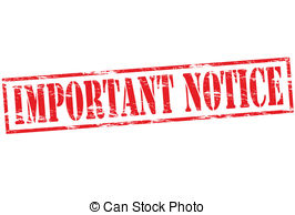 Illustrations and clip art. Important clipart notice pin clip library
