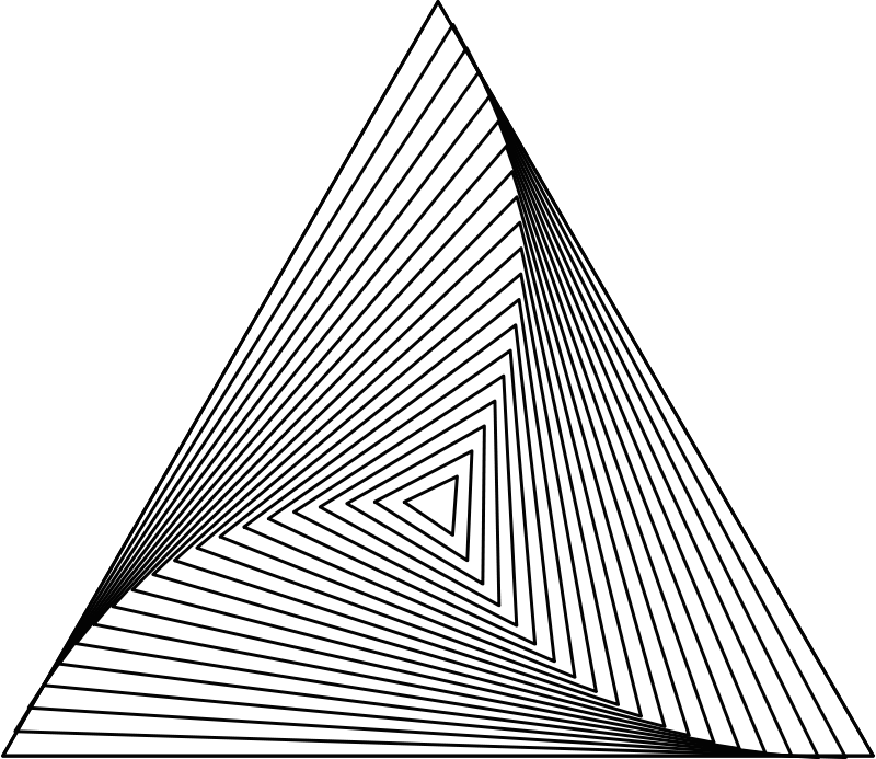 Impossible drawing. Triangle at getdrawings com