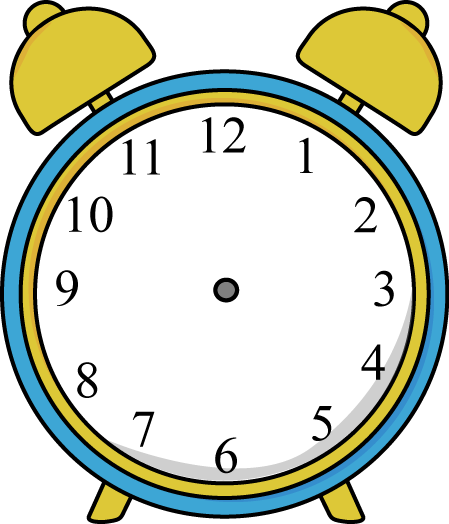 In the clipart clock. Clip art images alarm