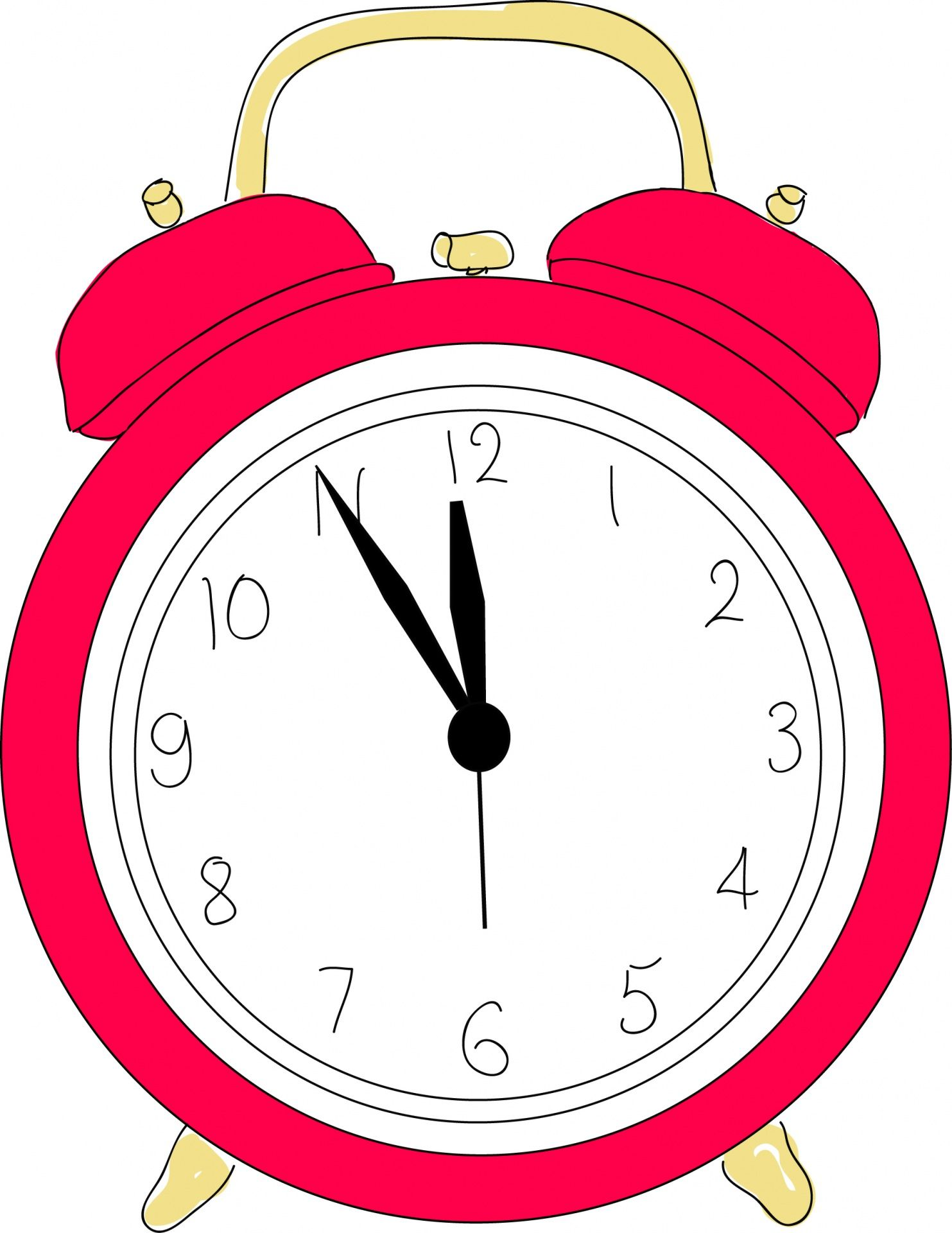 In the clipart clock. Alarm cliparts pinterest clocks
