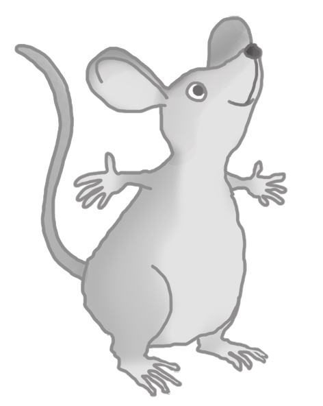 Mouse clipart tiny mouse. Clip art happy cute