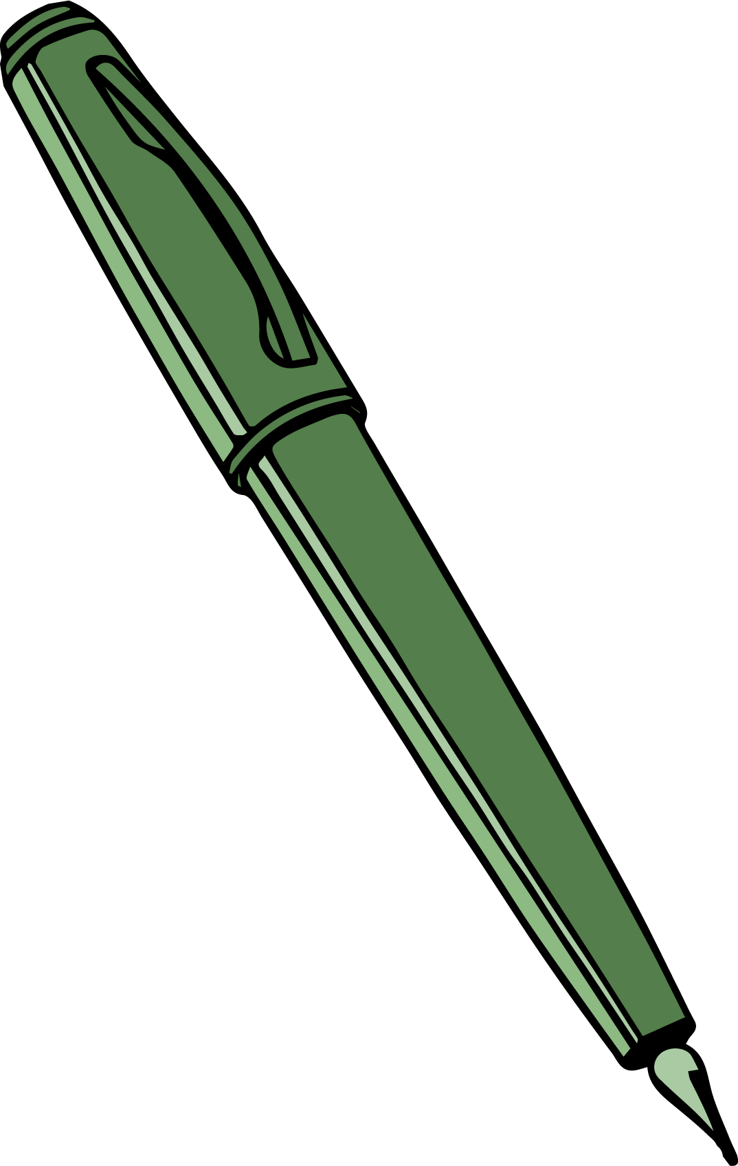 Pencil clipart png. Calligraphy pen clipartly comclipartly