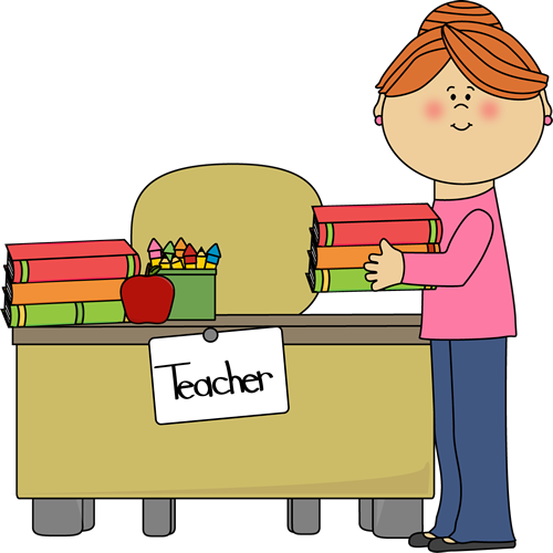 In the clipart teacher. Clip art images putting