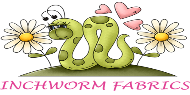 Inchworm clipart cutterpillar. Quality fabric for quilting