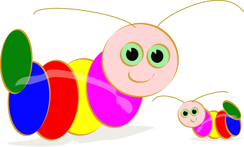 Inchworm clipart wiggle worm. Baby caterpillar pencil and