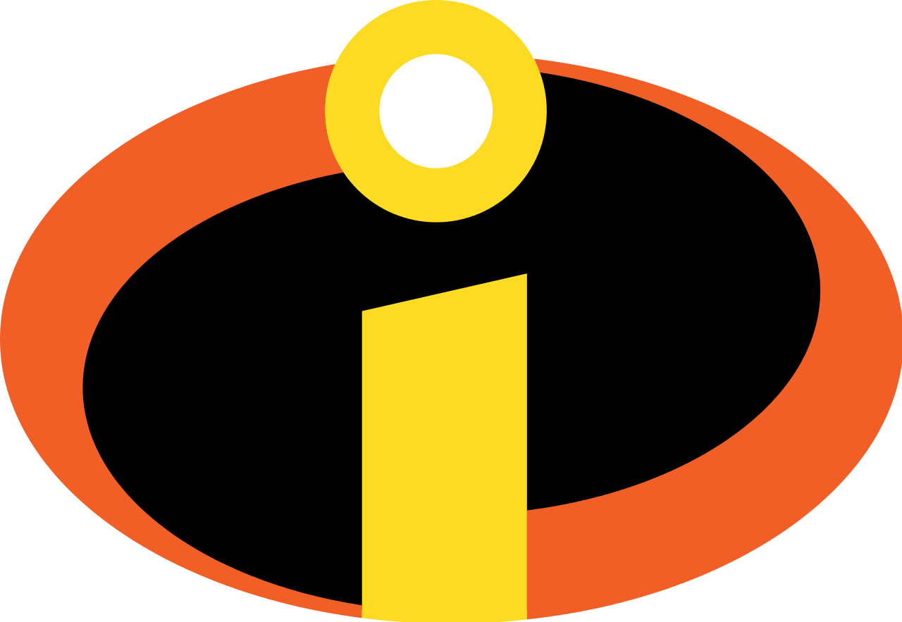 Incredibles 2 logo png. Kyle s animated world